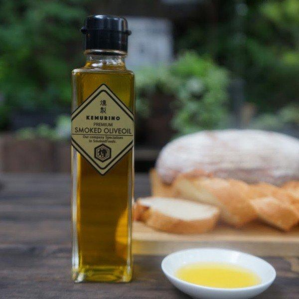 燻製オリーブオイル(プレミアムタイプ) 160ml  料理にひとかけ 手軽に燻製の香りが楽しめます