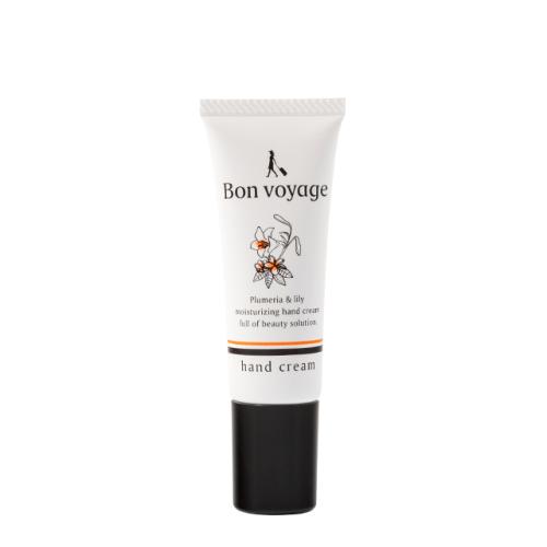 BonVoyage エッセンスミニハンドクリーム(プルメリア&リリーの香り) ※チューブ25g