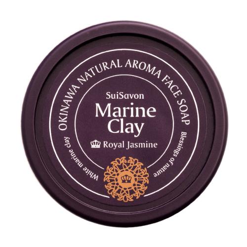 琉球のホワイトマリンクレイR 洗顔石鹸(ロイヤルジャスミンの香り)