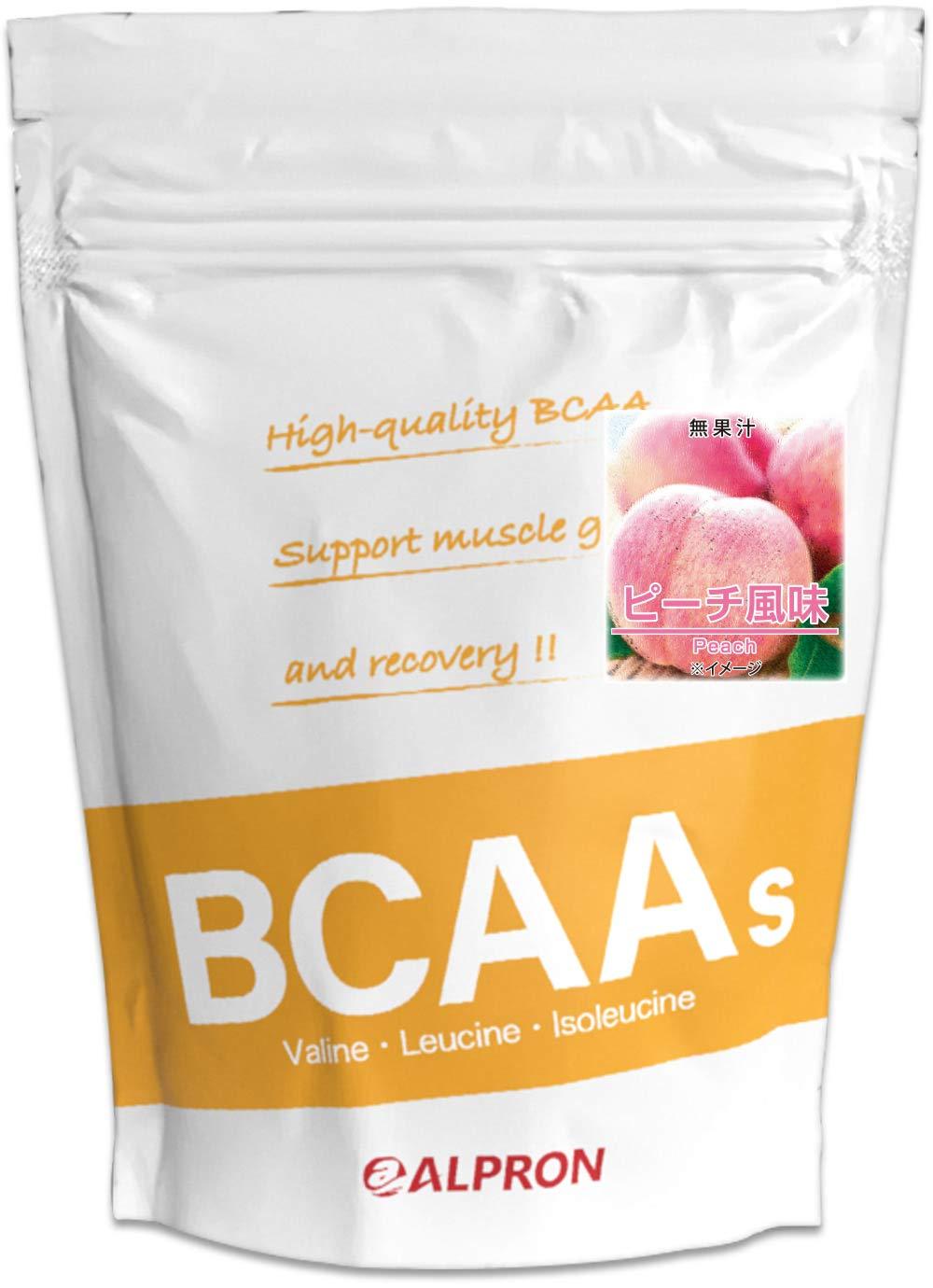 [送料無料]アルプロン BCAA 1kg ピーチ風味(アミノ酸 ALPRON 粉末ドリンク 国産)