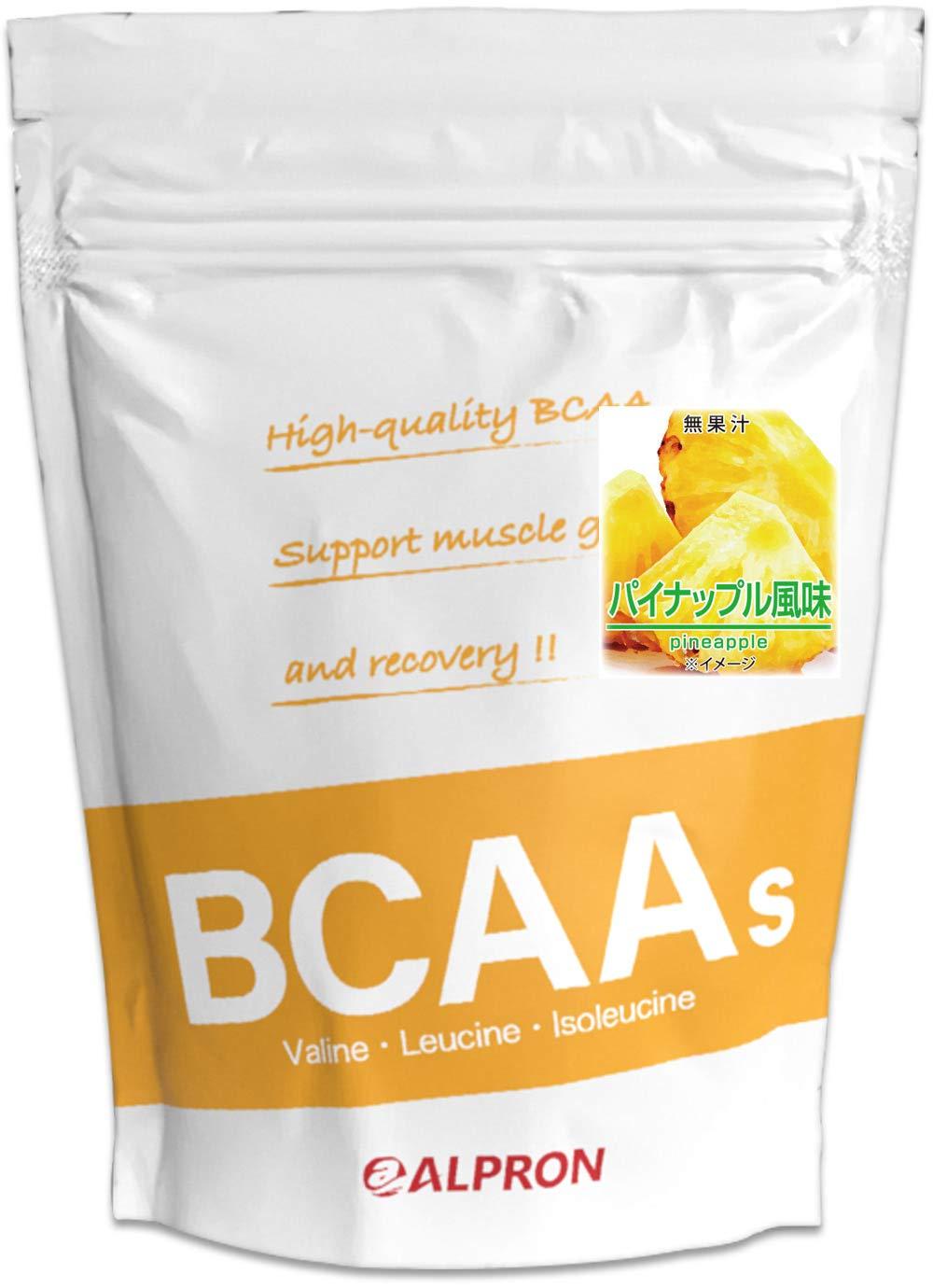 [送料無料]アルプロン BCAA 1kg パイナップル風味(アミノ酸 ALPRON 粉末ドリンク 国産)