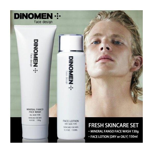 DiNOMEN フレッシュ スキンケアセット(洗顔・化粧水)